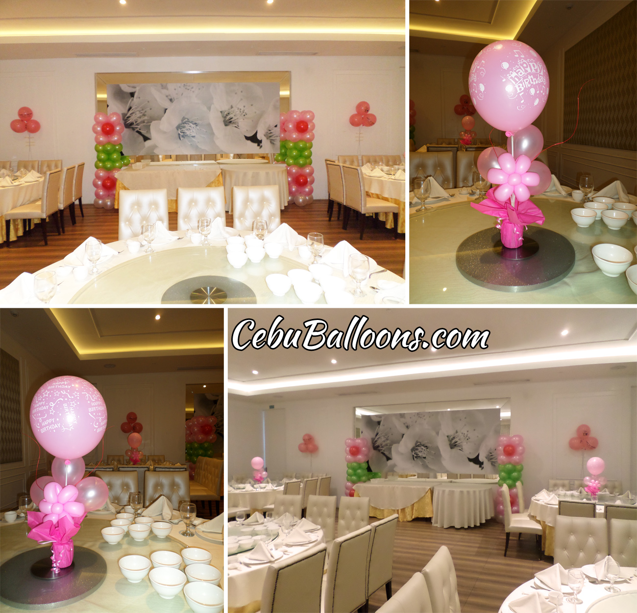 Grand convention center of cebu balloons and party