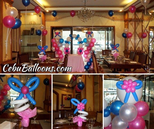 Franchise package cebu balloons and party supplies for Balloon decoration packages