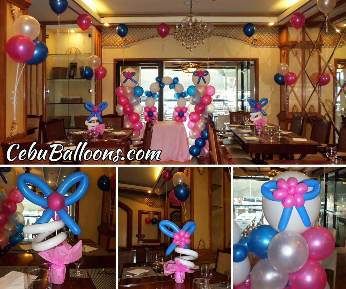 Franchise package cebu balloons and party supplies