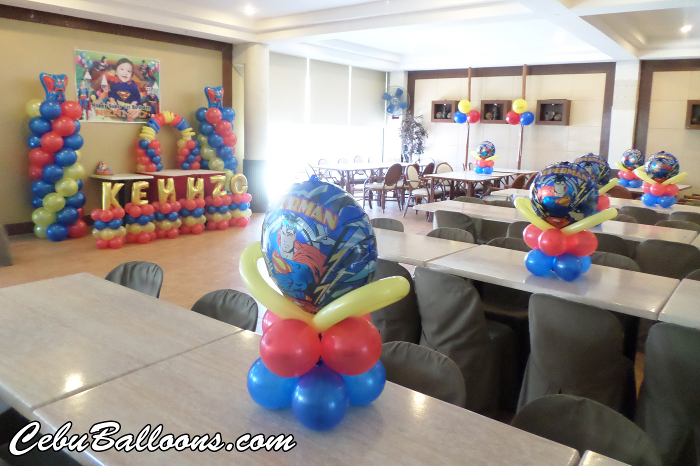 Alphabet balloons letters and numbers cebu