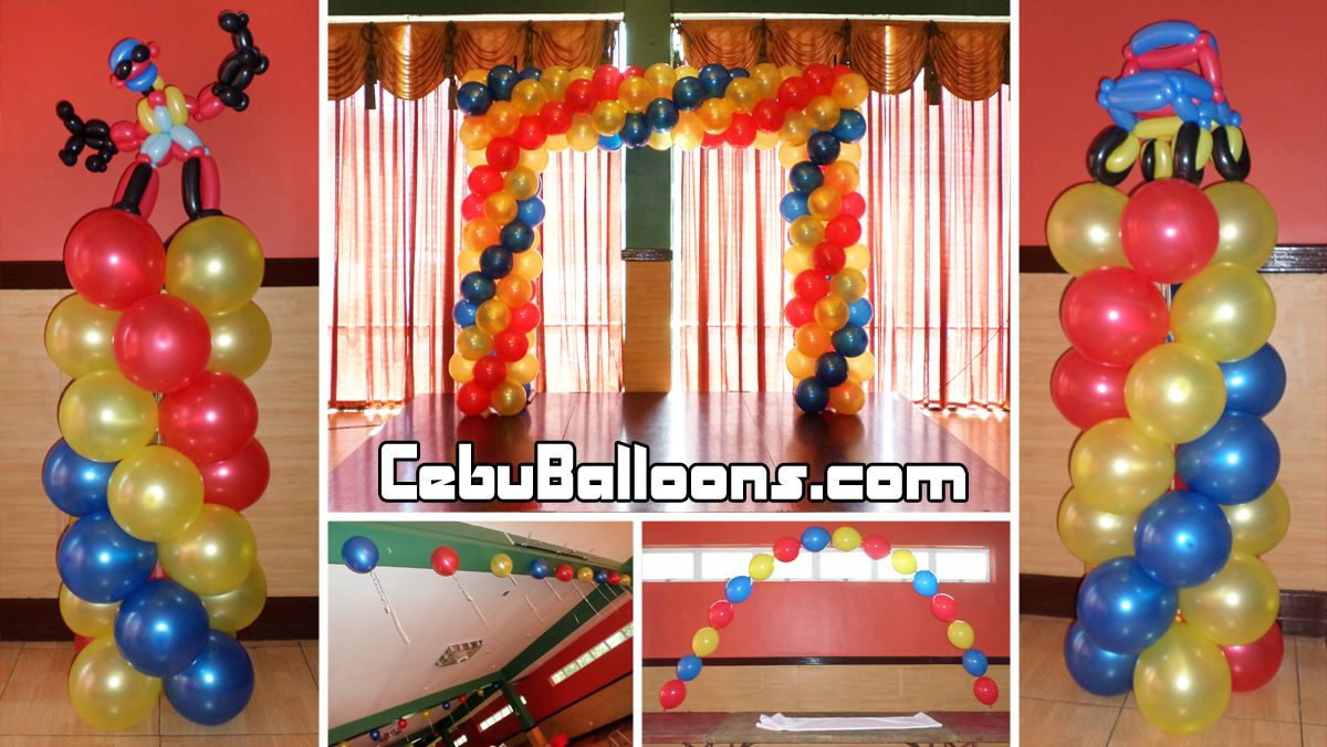 Transformers Theme Balloon Decoration Package at Hannahs Party Needs