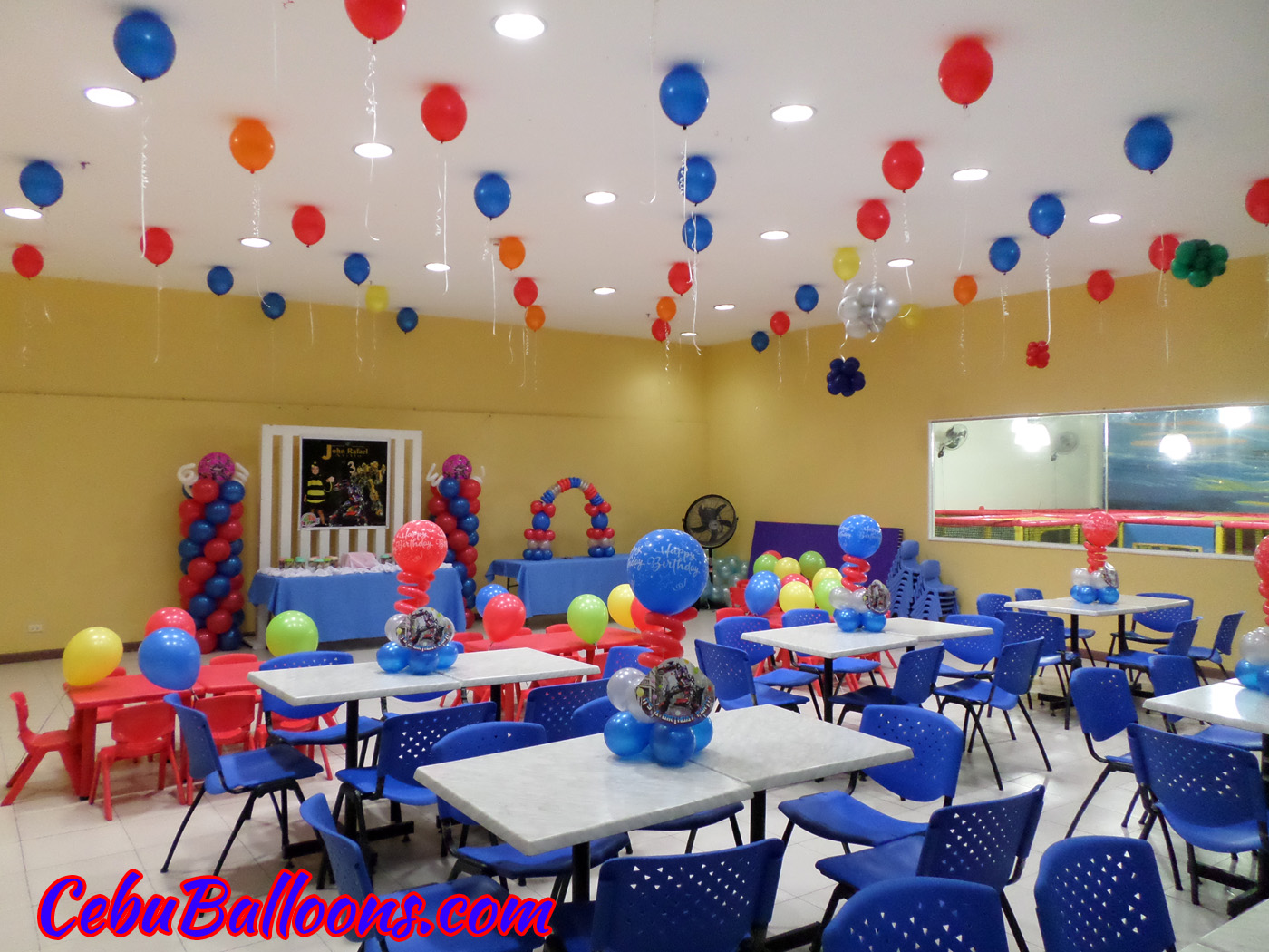Transformers cebu balloons and party supplies for Decoration ideas