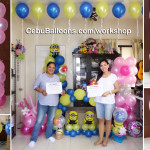 Workshop on Balloon Decoration (Consuelo & Marilou)