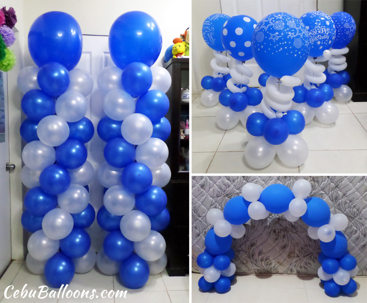 Senior citizen cebu balloons and party supplies for Ballon decoration