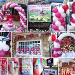 Cabin Crew (Qatar Airways) Balloon Decoration & Kiddie Party Package at Camella Homes Lapulapu