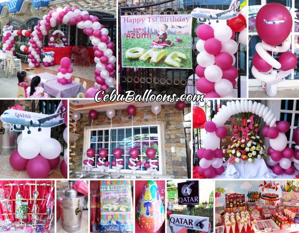 Cebu balloons and party supplies maranga for 1st birthday decoration packages