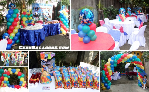 Justice league cebu balloons and party supplies