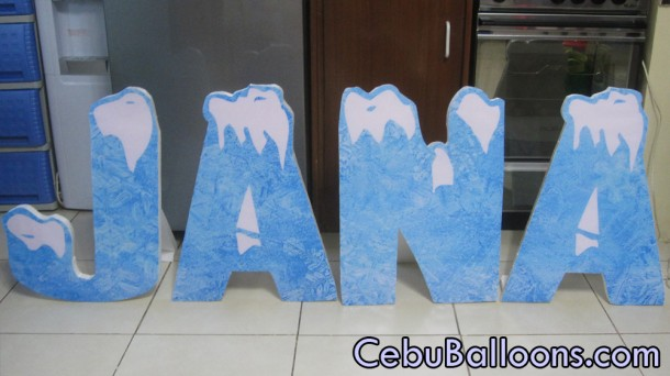 Letter Standees Cebu Balloons And Party Supplies