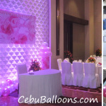 Simple Balloon Decors for 60th Birthday at Cebu Grand Convention