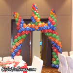 Thumbnail - Designs of Entrance Balloon Arches Post