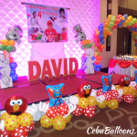 Multi-character Balloon Decoration at Grand Convention Center
