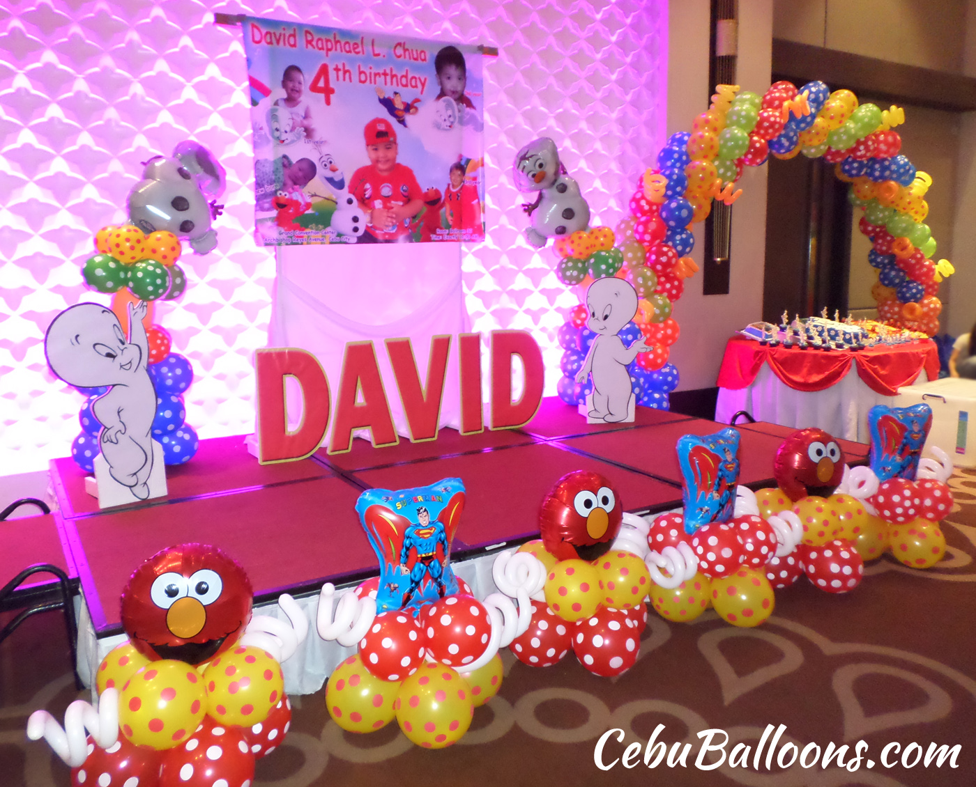 decoration ideas for multi-themed birthdays & double celebrations