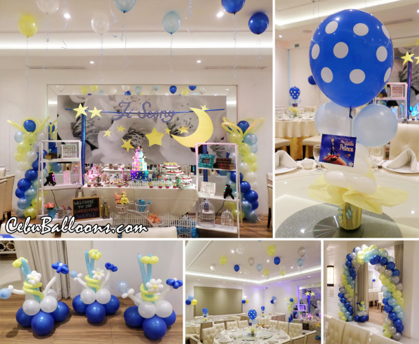 The little prince cebu balloons and party supplies for A new little prince baby shower decoration kit