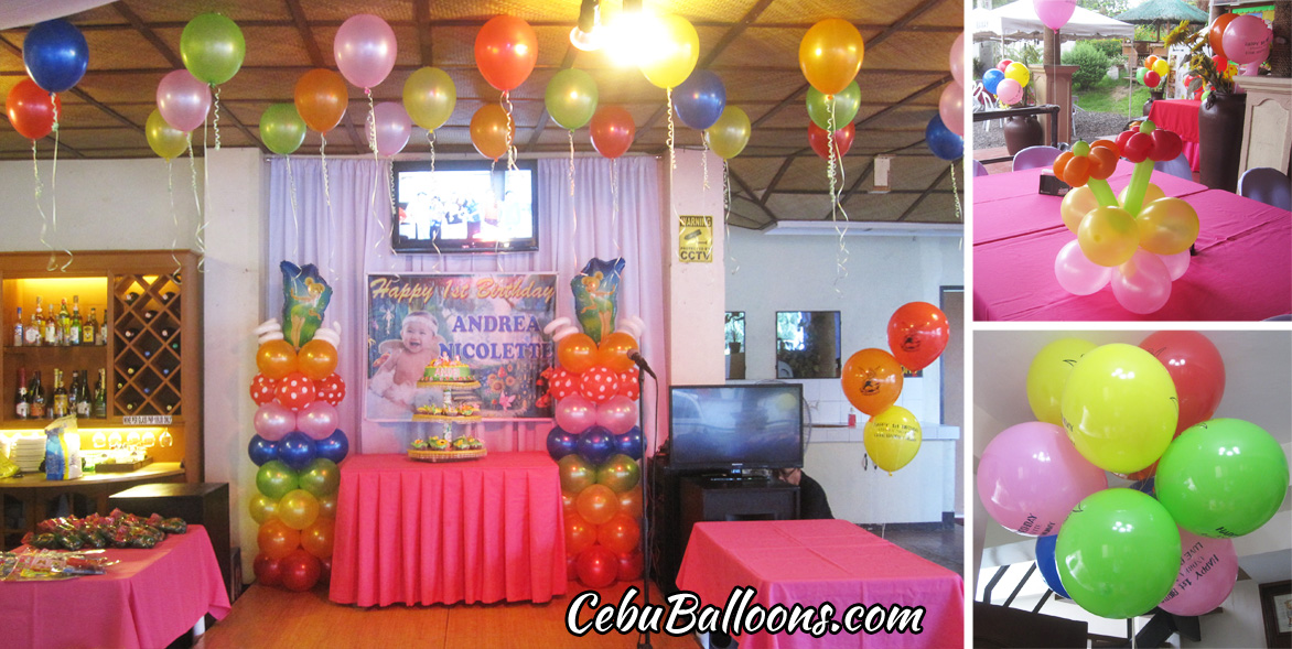 Avail an enchanted kids party event cebu balloons and for Balloon decoration packages manila