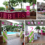 Enchanted Theme Balloon Decoration & Styro for Bubble's 28th Birthday at Gallego Private Resort