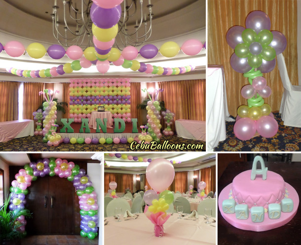 Fairyland cebu balloons and party supplies for Balloon decoration packages manila