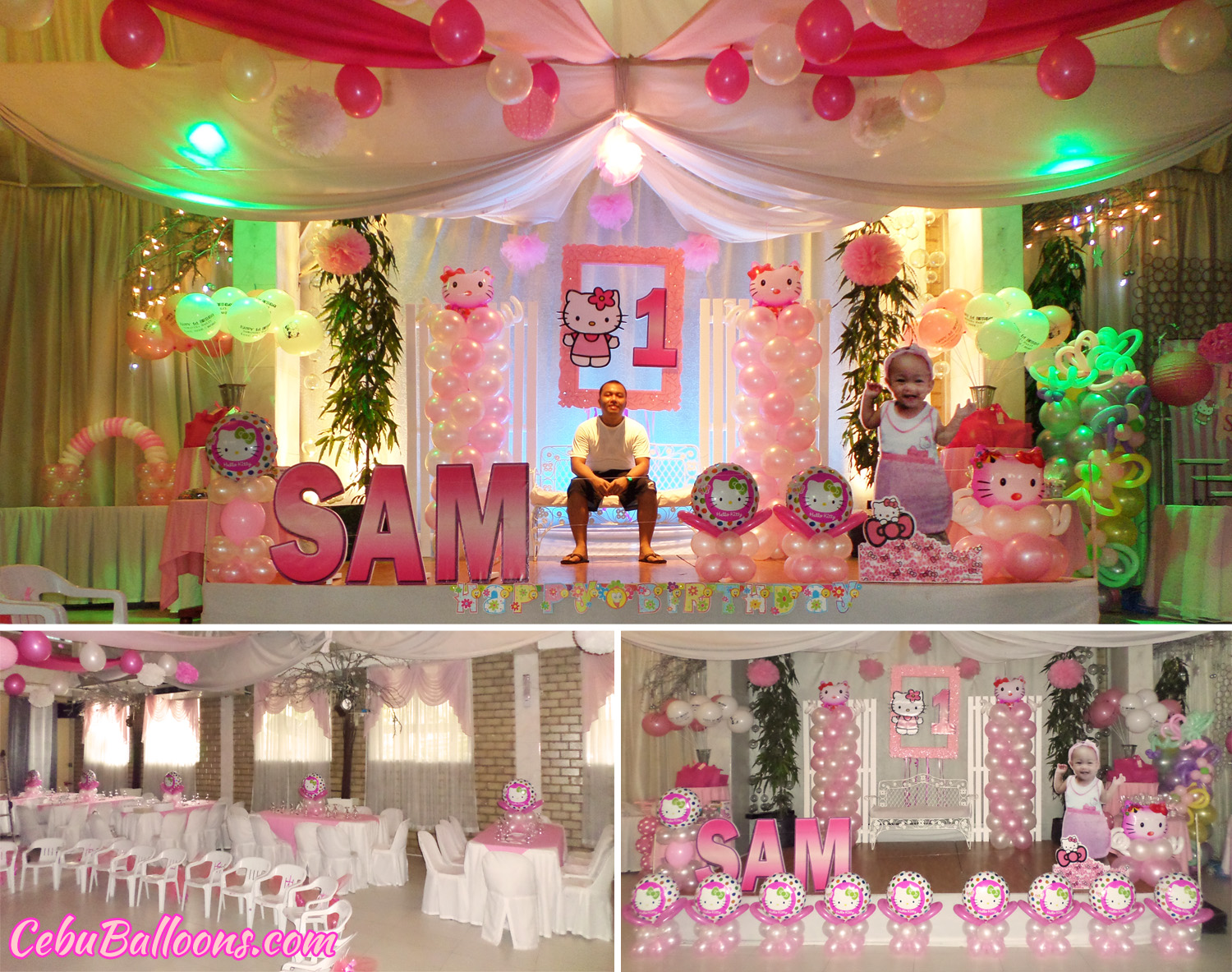 Letter standees cebu balloons and party supplies - Party decorations ideas ...
