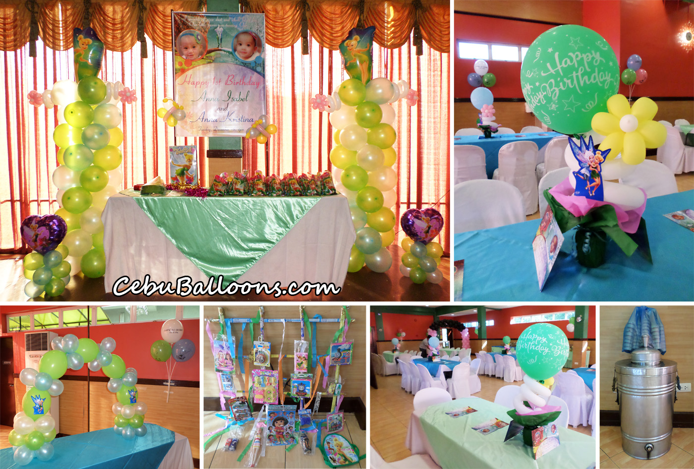 tinkerbell periwinkle theme birthday decoration party supplies at hannahs party place