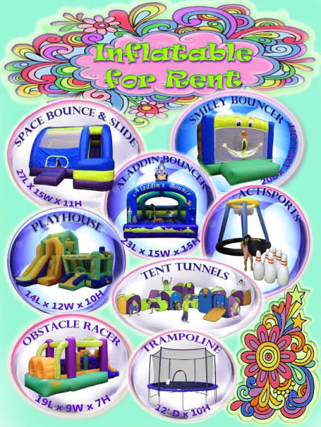 Inflatables & Trampoline for Rent in Cebu