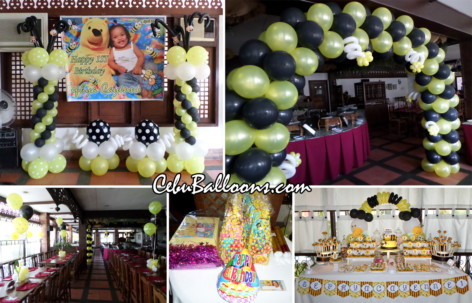 Bumble Bee Balloon Decoration Party Supplies At Patio Isabel Banilad