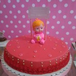 1-Layer Cake for a Christening