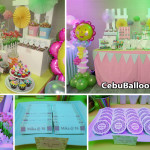 Floral-theme Dessert Buffet for a Sweet 16th Birthday Party at 1016 Residences