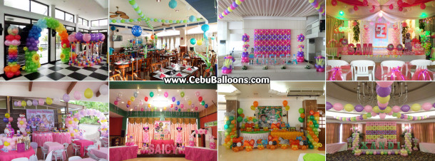 Composite Image of Cebu Balloons Bongga Package