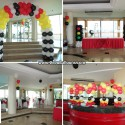Ferrari Theme Balloon Decoration at Sugbutel Penthouse