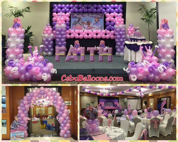Bongga decor packages cebu balloons and party supplies for 1st birthday decoration packages