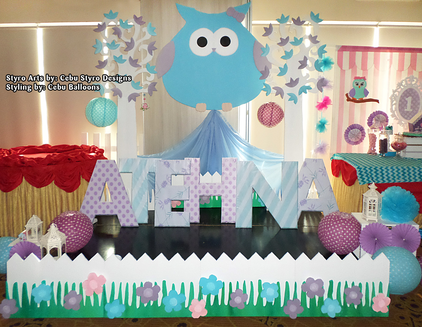 Owl Balloon Centerpiece Ideas : Choi city cebu balloons and party supplies