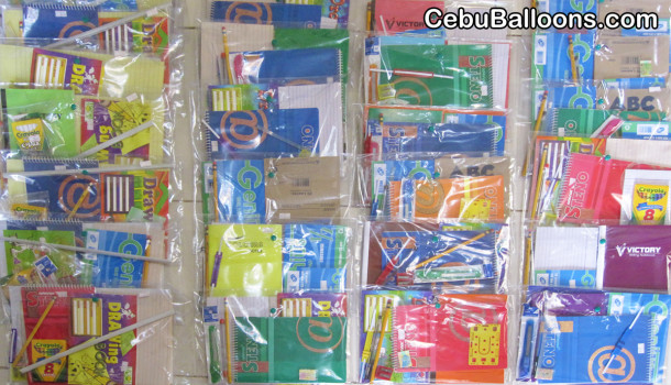 School Supplies for Charity