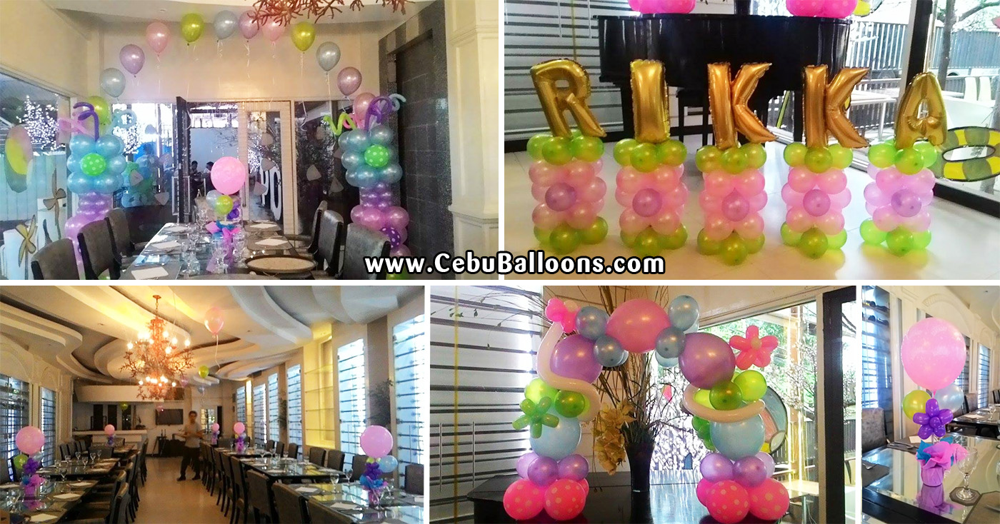 Balloon Decoration For Birthday In Room Image Inspiration of Cake