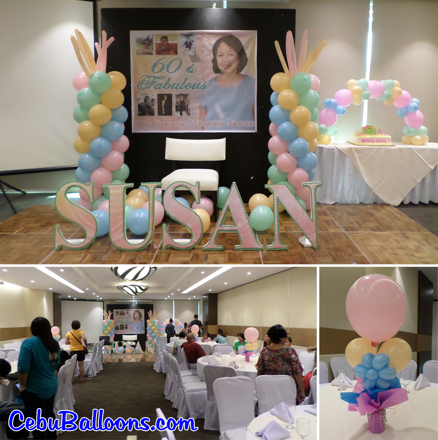 How early should you start decorating the venue cebu for 21st birthday decoration packages