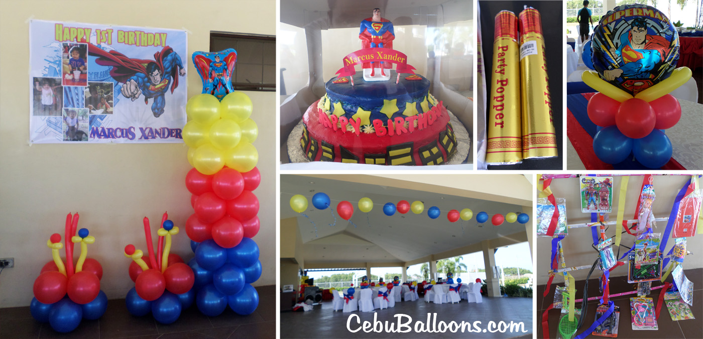 How early should you start decorating the venue cebu for Balloon cake decoration