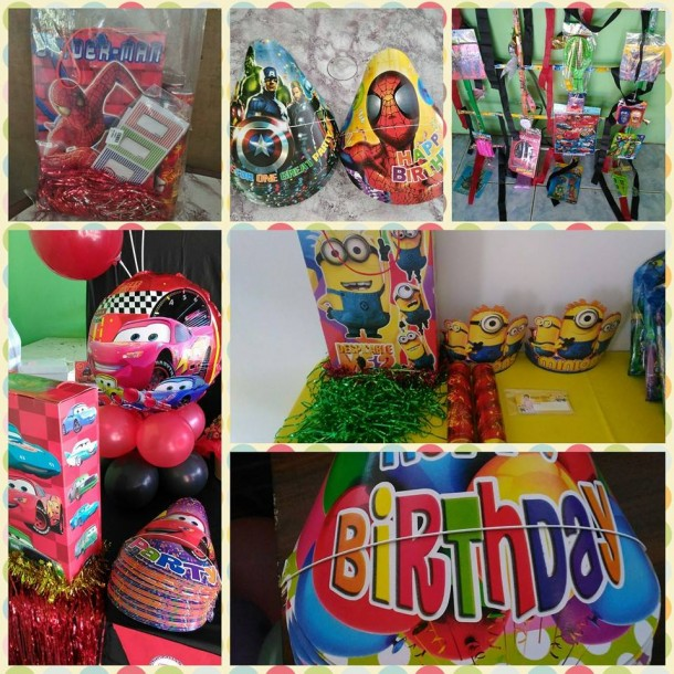 Assorted Party Supplies