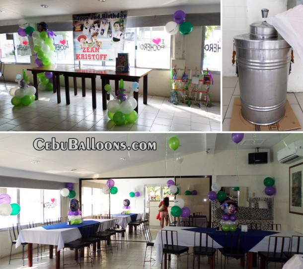 Buzz Lightyear Balloon Decoration with Party Supplies at Abuhan South