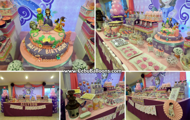 Composite - Sofia the First Dessert Buffet at Abuhan South