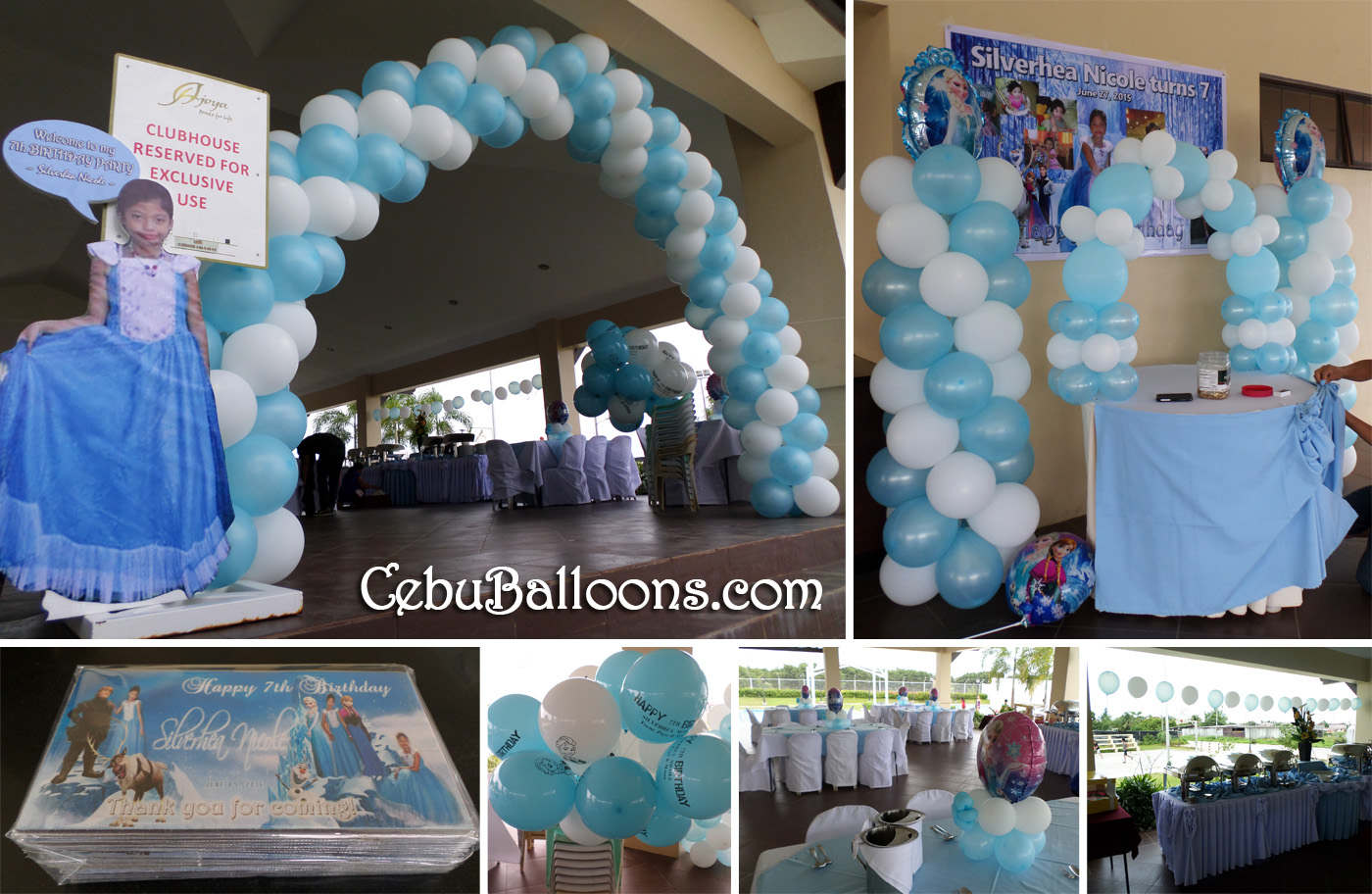 Lean season for balloons party supplies cebu balloons for Balloon decoration packages philippines