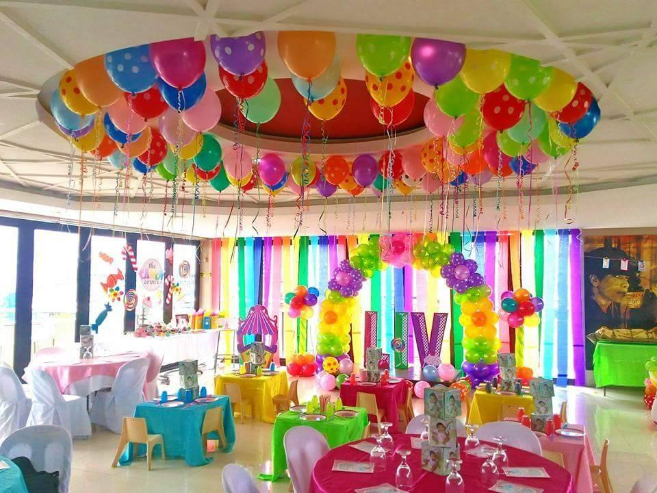 Ideal time to decorate the venue cebu balloons and party for Balloon decoration ideas for christening