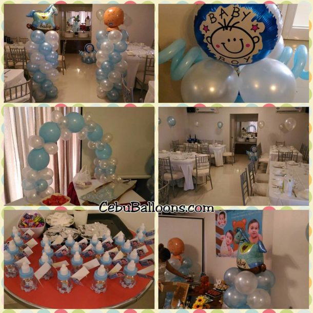 Balloon Decorations at Sebastien Hotel