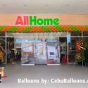 40ft x 16ft Balloon Border for AllHome Grand Opening