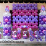 Sofia the First Balloon Decors with Styro Arts at Happy Valley