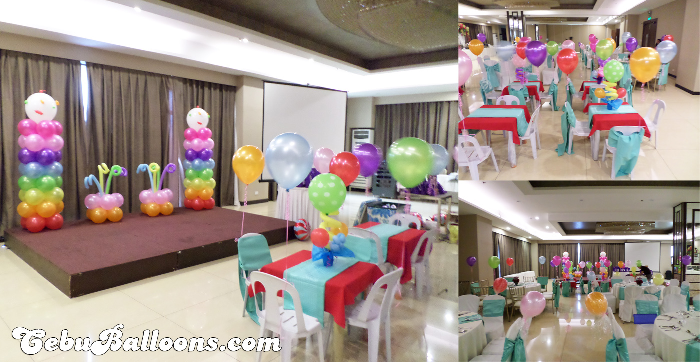 Assorted Venue Rates in Metro Cebu | Cebu Balloons and Party