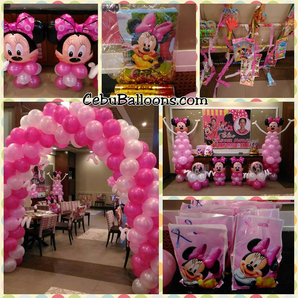 Minnie mouse balloon decorations 28 images minnie for Balloon decoration minnie mouse