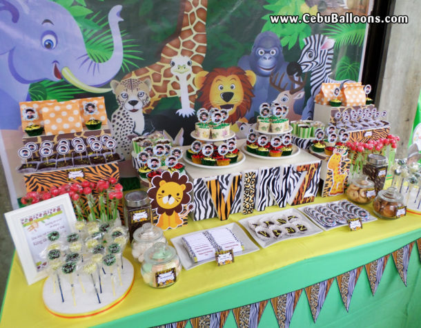 Safari Theme Dessert Buffet Package in Liloan