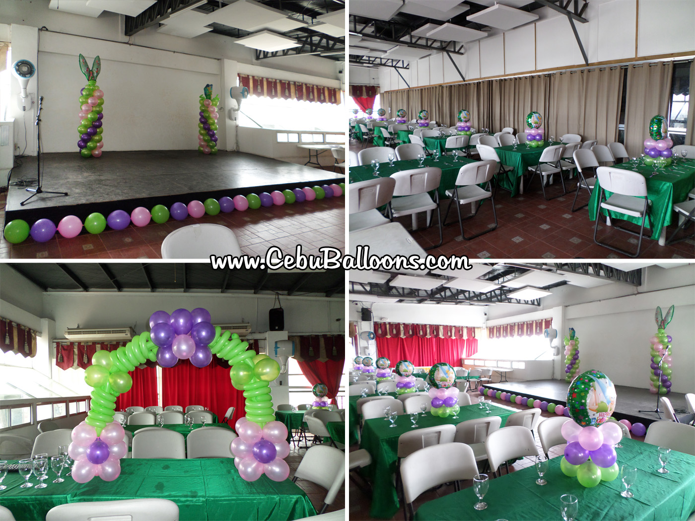 The party fairy cebu balloons and party supplies for Balloon decoration packages