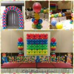 Lego-themed Styrocrafts and Balloons at Cebu GrandCon