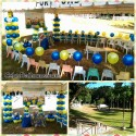 Minions Balloon Decors with Entertainers at Family Park Talamban