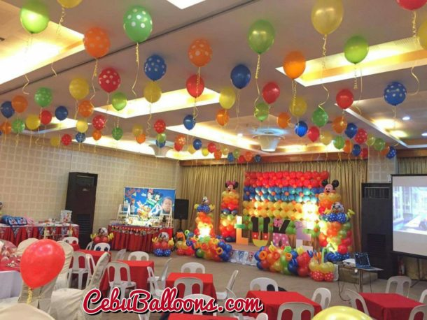 Diamond suites cebu cebu balloons and party supplies for Balloon decoration packages manila