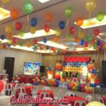 Colorful Mickey and Friends Setup at Diamond Hotel